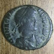 AE2 o Maiorina de Magno Máximo. REPARATIO REI PVB. Lyon A6-DE72-CD-13-C9-4265-9374-D53388808-A3-E