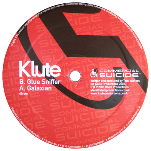 Klute - Galaxian / Glue Sniffer