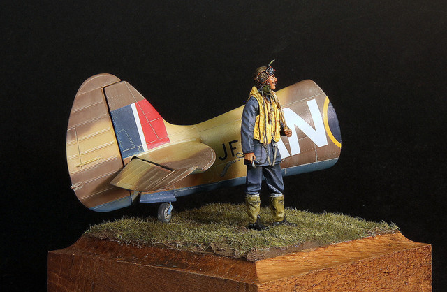 RCAF pilot, 417 Sq Marcianise Italy, janv 1944 IMG-3400
