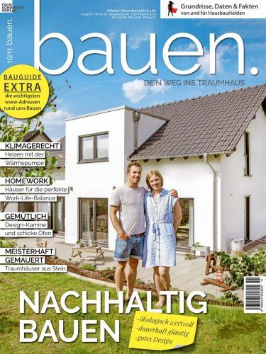 Cover: Bauen Magazin Dein Weg ins Traumhaus No 10 2021