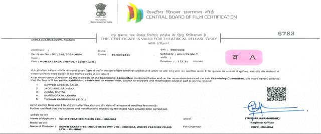 Mumbai Saga (2021) 720p WEB-DL H264 DDP5 1-DUS Exclusive