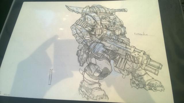 Galerie Daniel Maghen [originaux Warhammer Battle & 40K] 40