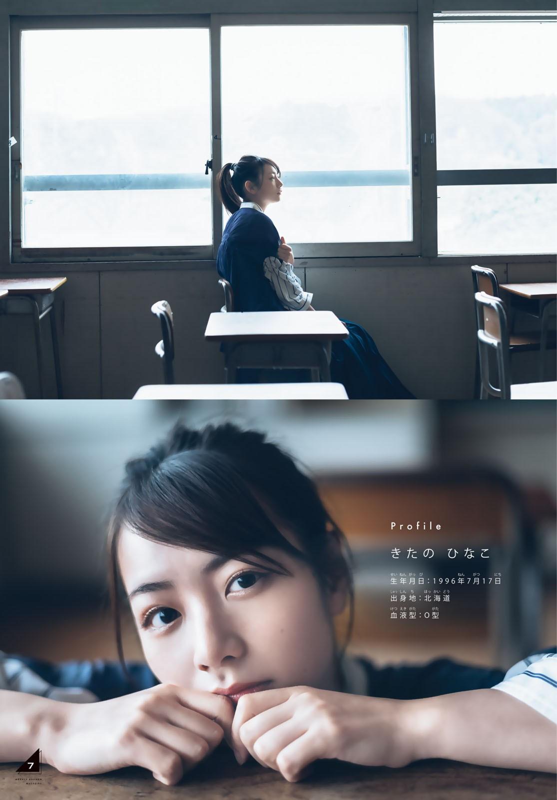 [Weekly Shonen Magazine] 2021 No.17 Hinako Kitano 北野日奈子 009