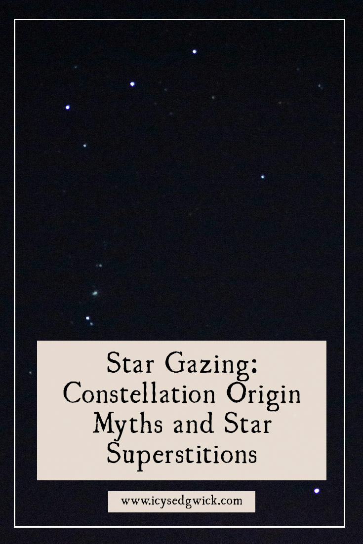 What ancient stories and legends do the stars spell out for us? Find out with these constellation origin myths, based on the Greek tales.