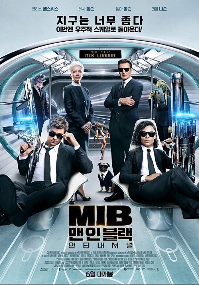 Men in Black International 2019 Hindi Dual Audio 720p