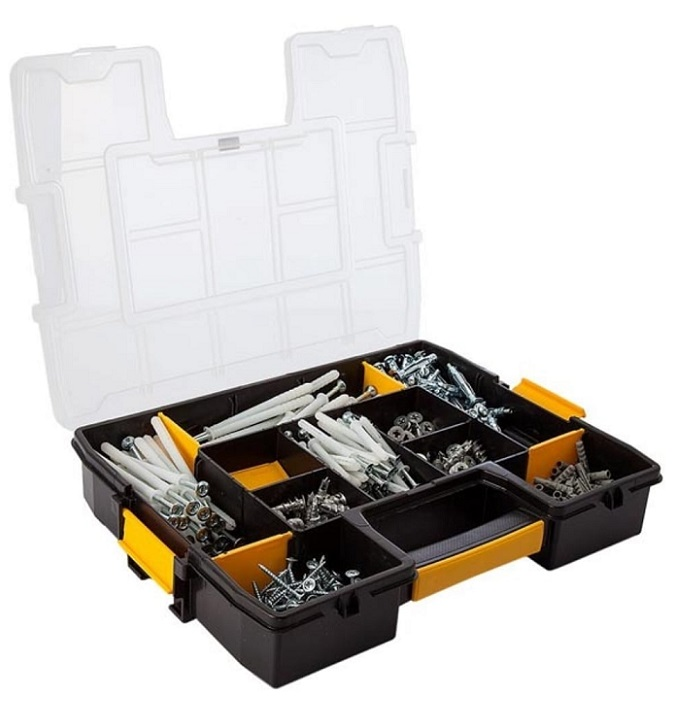 Dewalt-Mixed-Anchor-Fixing-Organiser-DFMJOMIX-Open