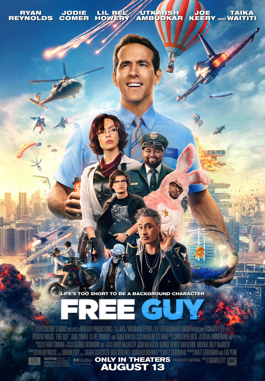Free Guy (2021) English 720p WEB-DL x264 AAC 800MB ESub