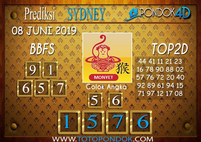 Prediksi Togel SYDNEY PONDOK4D 08 JUNI 2019