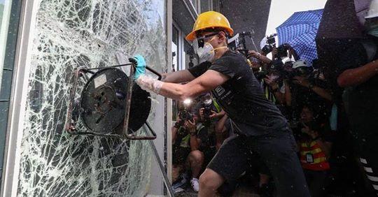请撕毁《香港人权与民主法案》