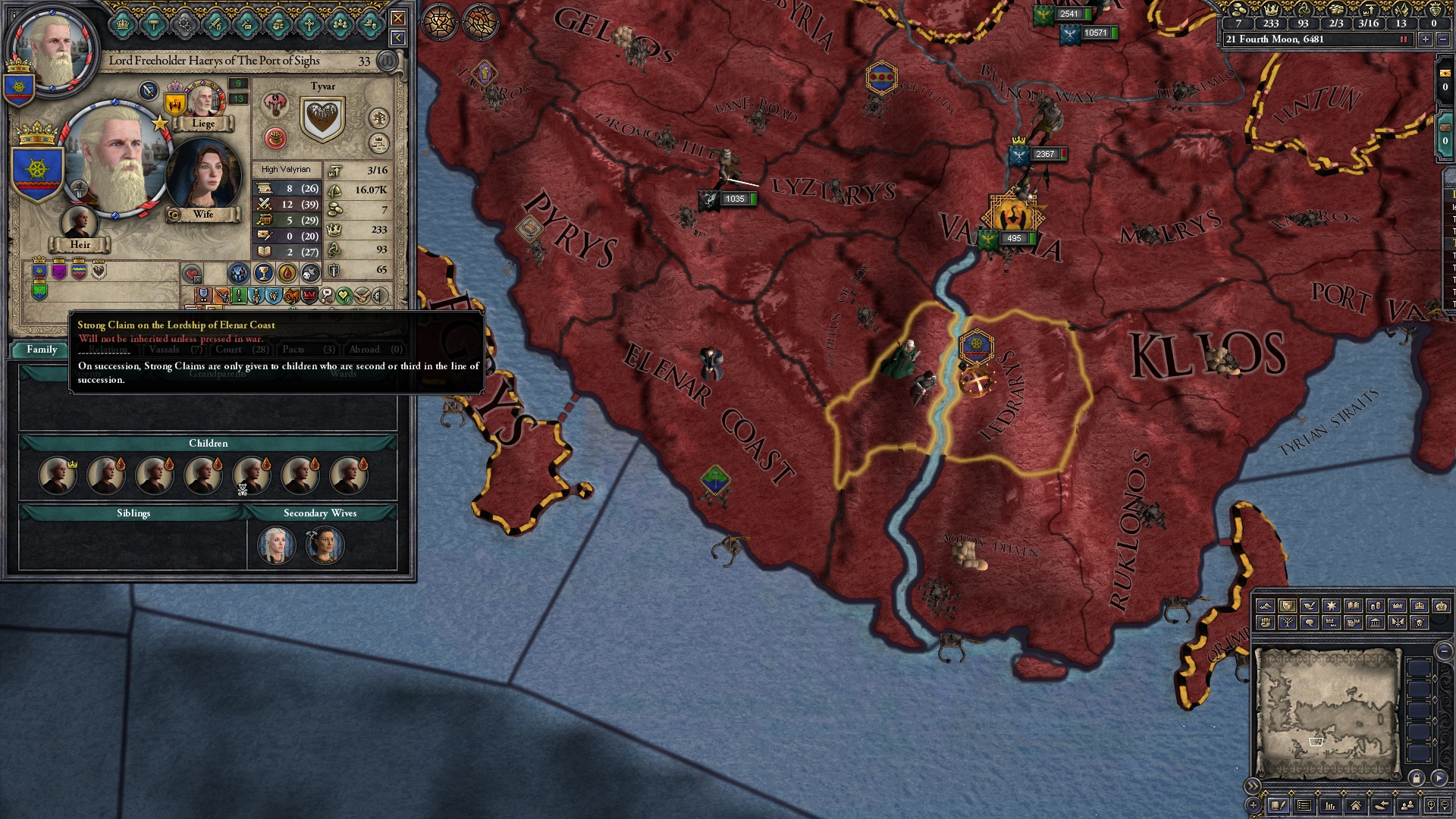 Claim not working | The Citadel: A Game of Thrones Mod