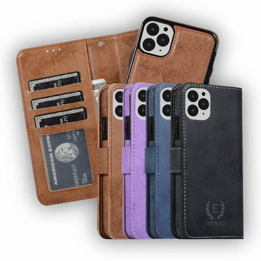 The Folio iPhone Wallet Case w/ Detachable Cardholder
