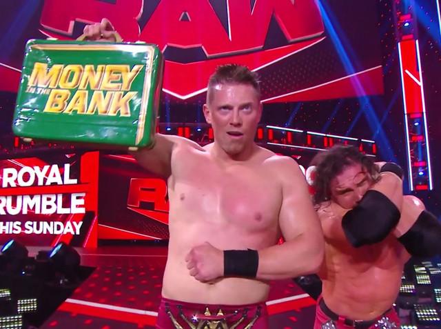 The Miz y John Morrison venció a Sheamus RAW Enero 26