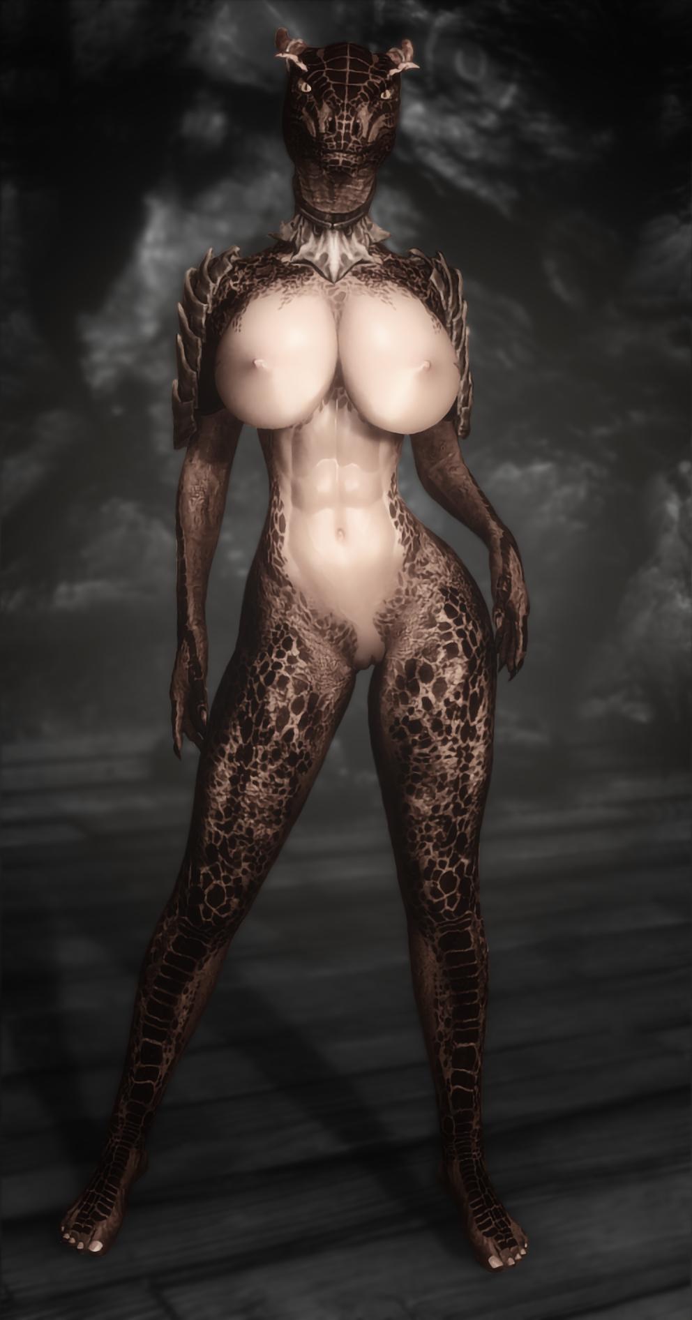 Elder scrolls oblivion nude argonian female