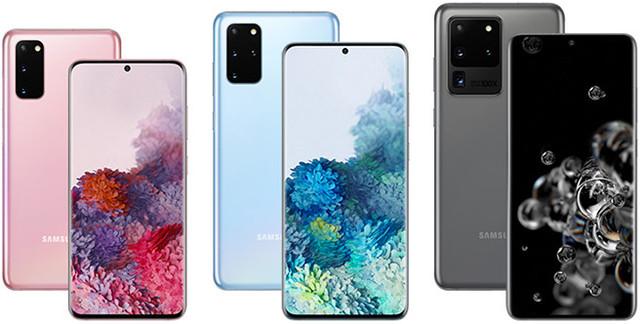 Samsung Galaxy S20 Samsung S20+ и Samsung S20 Ultra