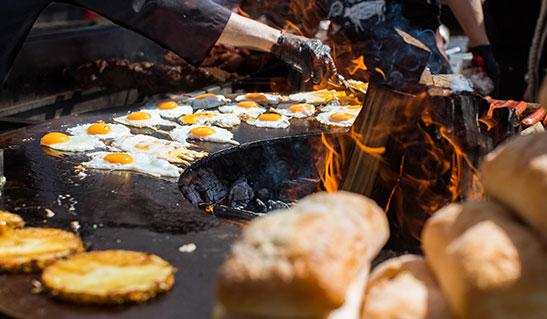 AHOS - мангалы для кафе и ресторанов