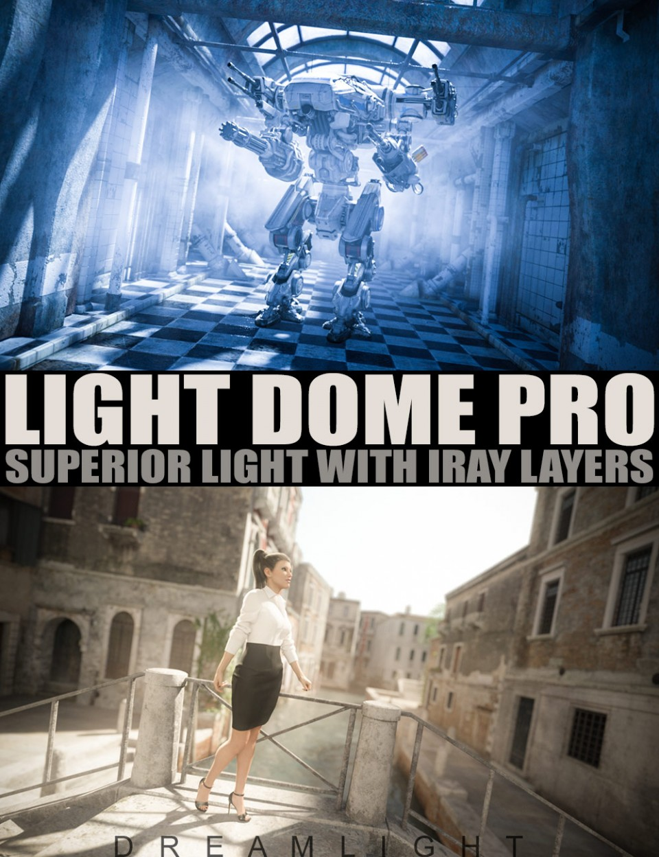 Light Dome PRO Iray – Superior Light With Layers