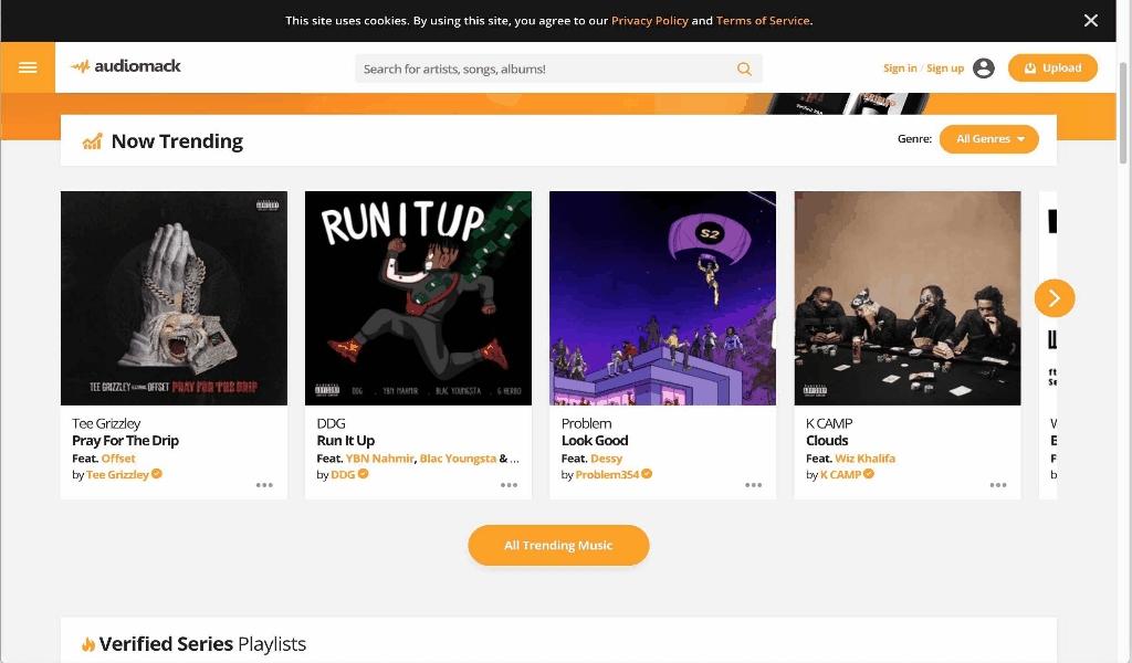 Online Music Art Festival