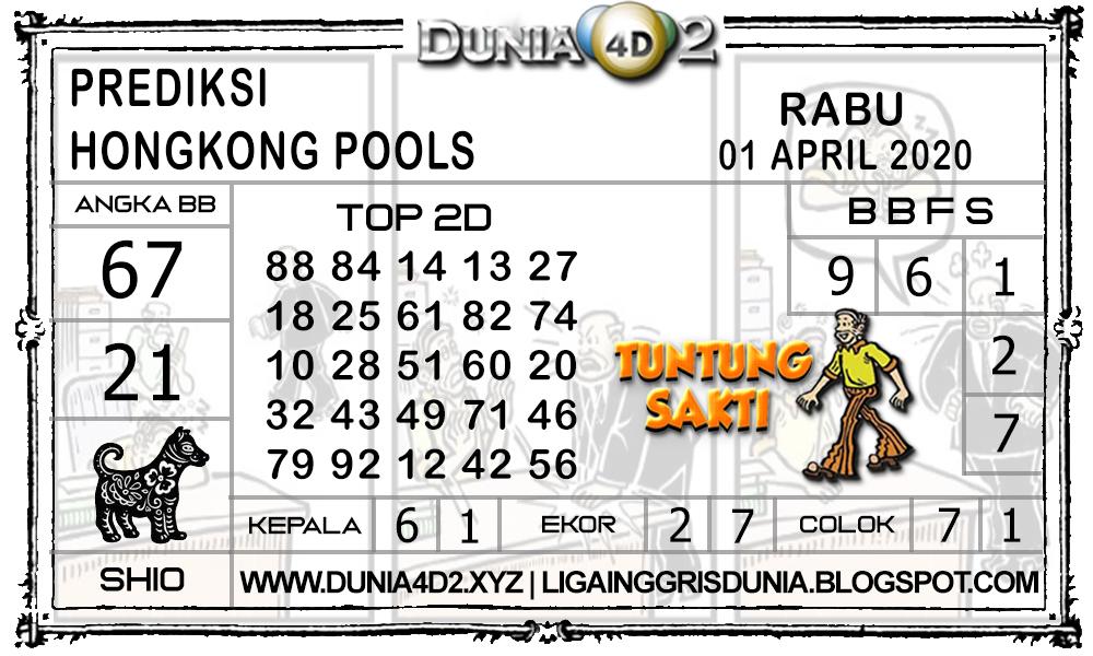 Prediksi Togel HONGKONG DUNIA4D2 01 APRIL 2020