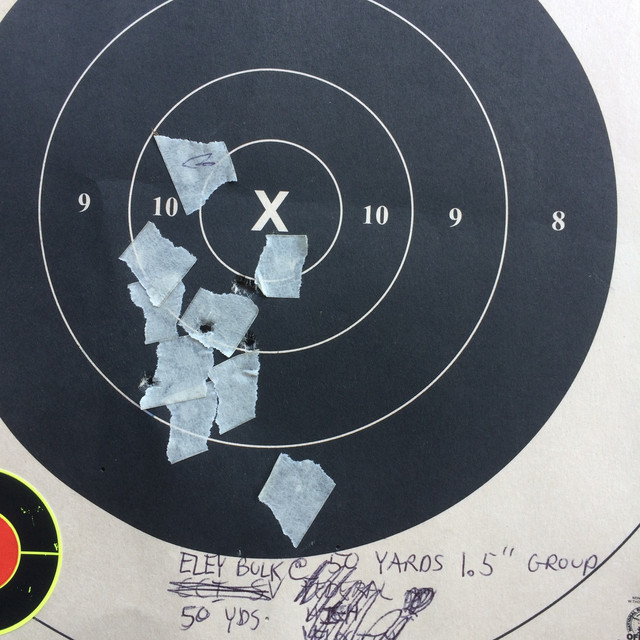 Does sandbag resting a pistol affect point of impact? IMG-6772