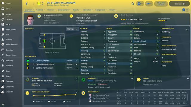 Stuart Williamson Overview Profile