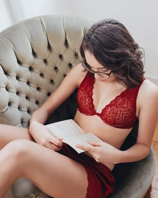Daniela Melchior - The Suicide Squad 2 (2021)- actress - red lingerie