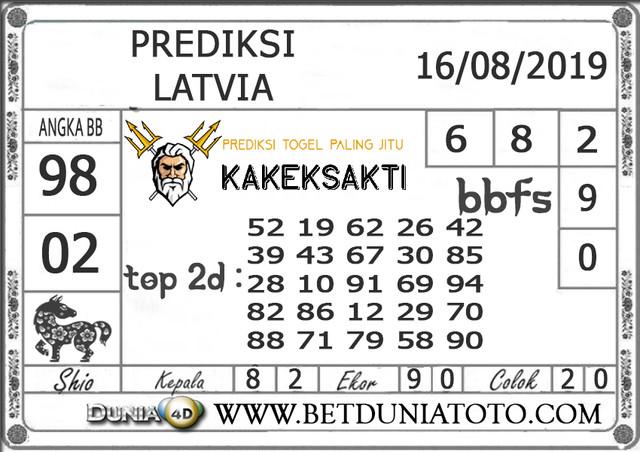"Prediksi Togel ""LATVIA"" DUNIA4D 16 AGUSTUS 2019"