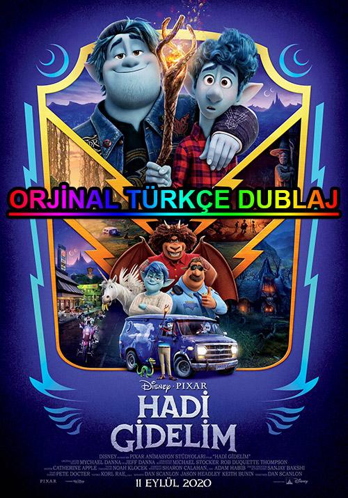 Hadi Gidelim | Onward | 2020 | BDRip | XviD | Türkçe Dublaj | 4K - 1080p - m720p - m1080p | BluRay | Dual | TR-EN | Tek Link