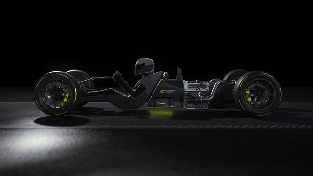 Sept Pilotes -One Team PEUGEOT-SPORT-POWERTRAIN-REVEAL-04