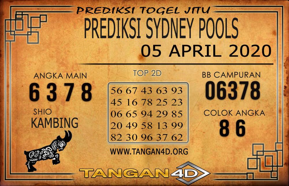 PREDIKSI TOGEL SYDNEY TANGAN4D 05 ARIL 2020