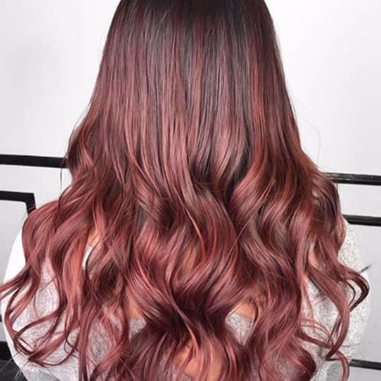 mahogany -hair-color