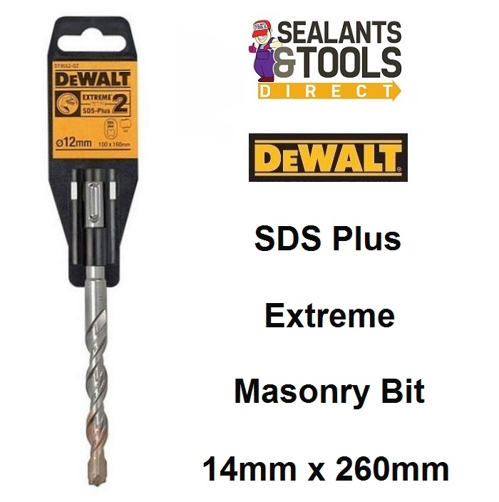 Dewalt Extreme 2 SDS Plus Masonry Drill Bit 14mm 260mm DT9568
