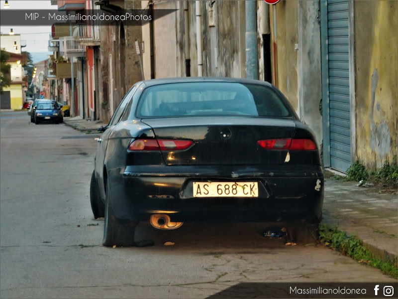 Auto Abbandonate - Pagina 10 Alfa-Romeo-156-Twin-Spark-1-6-120cv-28-NOVEMBRE-97-AS688-CK-2