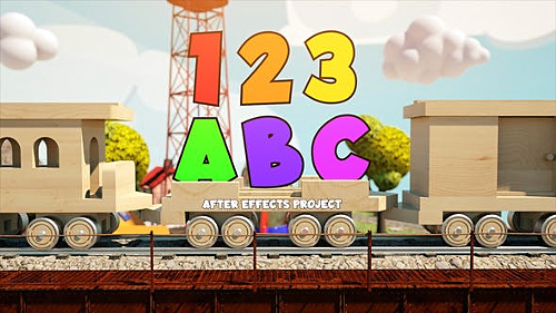 Children's Train 27774044 - Project for After Effects (Videohive)