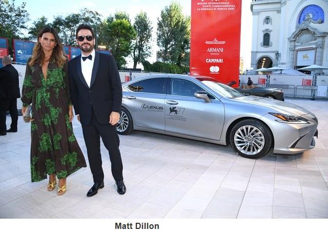 Lexus, voiture Officielle du 77e Festival International du Film de Venise Mattdillon
