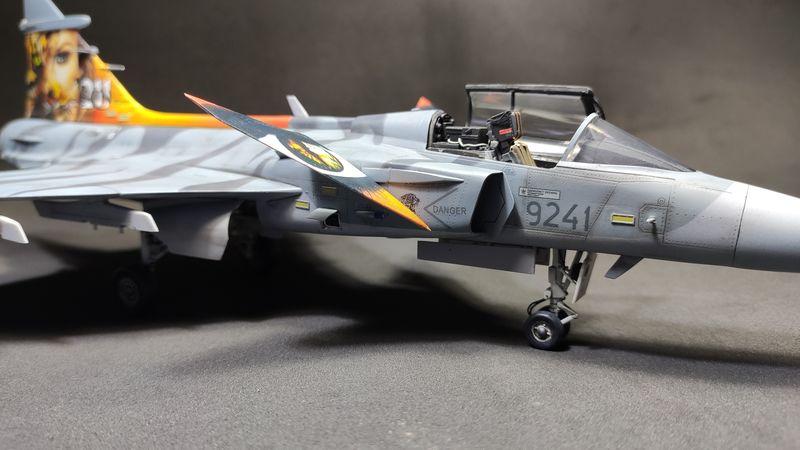 """MT: Jas-39C Gripen """"Wild Tiger"""" NTM 2017 Kitty Hawk 1/48 IMG-20200209-194820"""