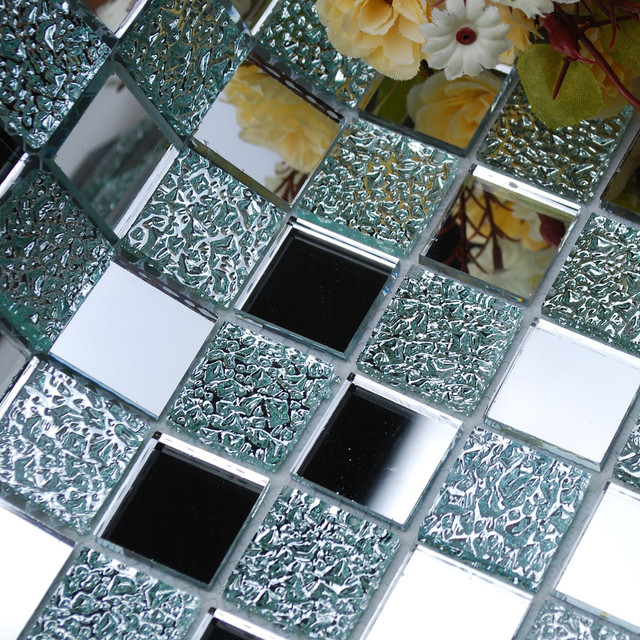 Стеклянная зеркальная мозаика