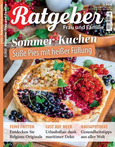 Cover: Ratgeber Frau und Familie Magazin No 08 2021