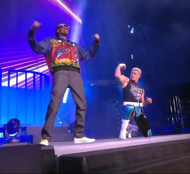 Cody Rhodes y Snoop Dogg AEW New Years Smash
