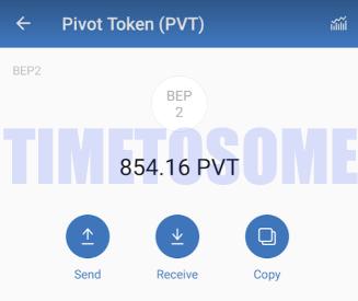 OPORTUNIDADE [Provado] Pivot - Ganha PVT tokens e Bitcoin - Android/iOS (Actualizado em Julho de 2019) PVTPROOF33