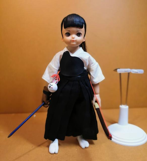 KyudoGirl - NEW PRODUCT: Lakor Baby 1/6 Scale Kyudo girl Rpt