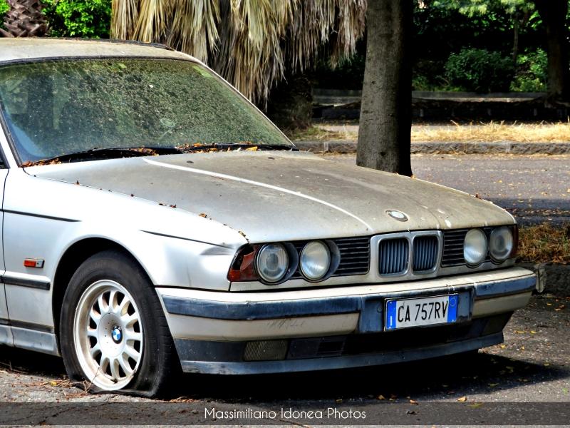 Auto Abbandonate - Pagina 19 Bmw-E34-Touring-525-tds-2-5-143cv-CA757-RV-6
