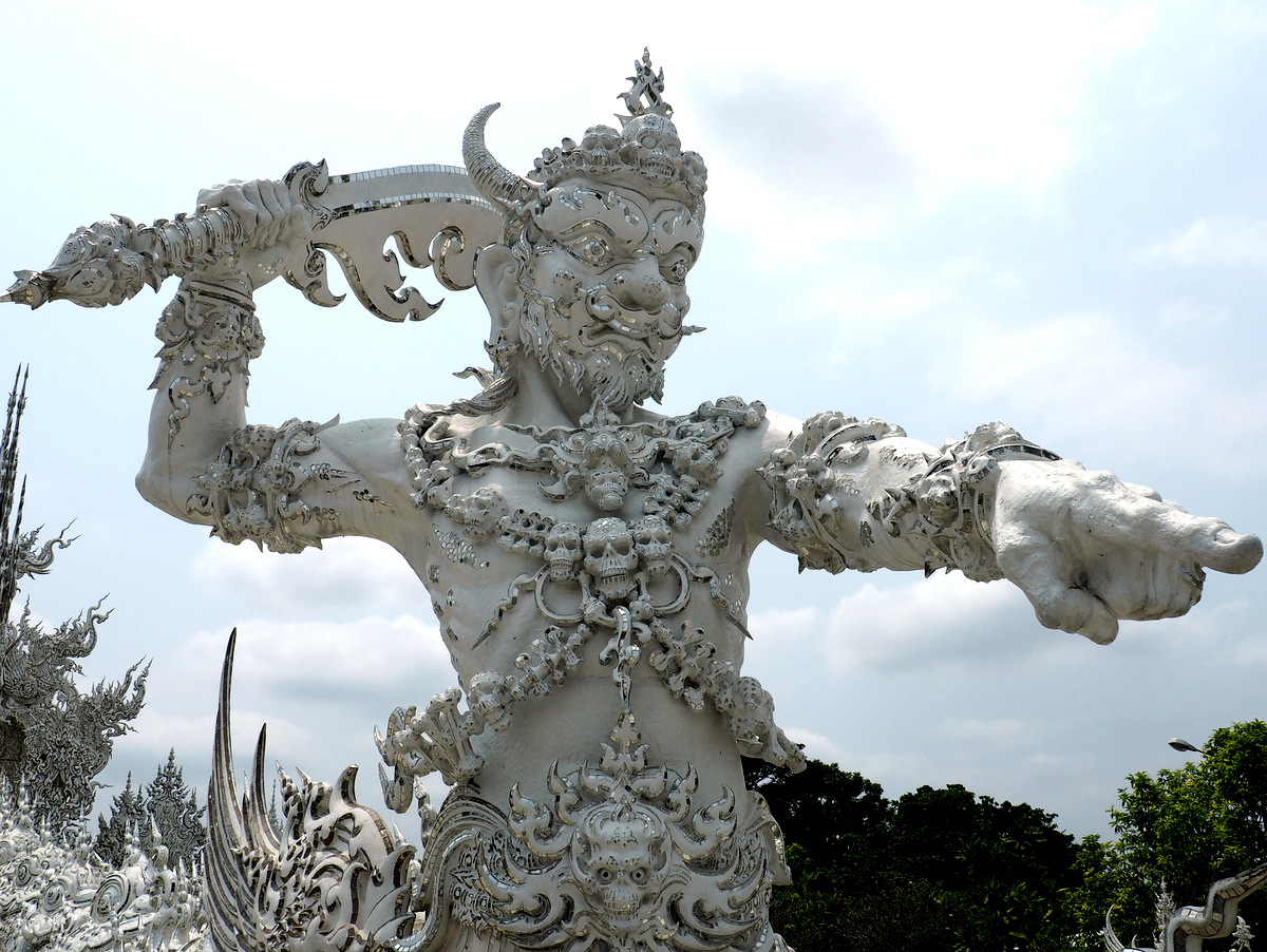 Заметки о храмах вокруг Чианг Рай и Чианг Май.