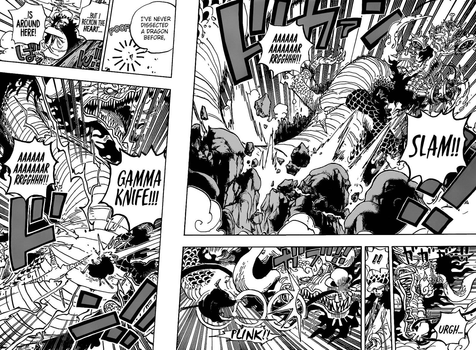 One Piece Manga Chapter 1002 - Img 005