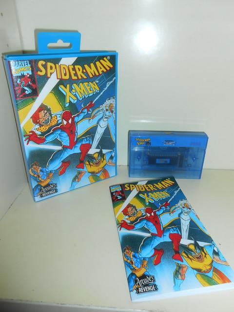 Spider-Man / X-Men: Arcade's Revenge Master System Complet 100% neuf   DSCN1745