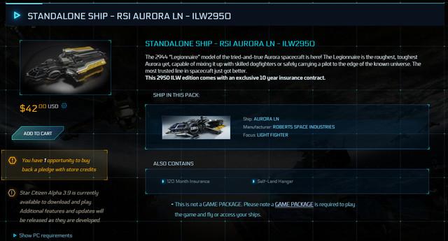 STANDALONE-SHIP-RSI-AURORA-LN-ILW2950-Buyback