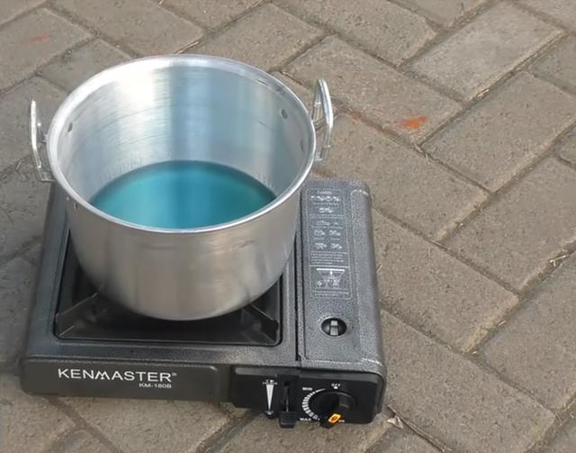 panci dan kompor gas alat dapur masak