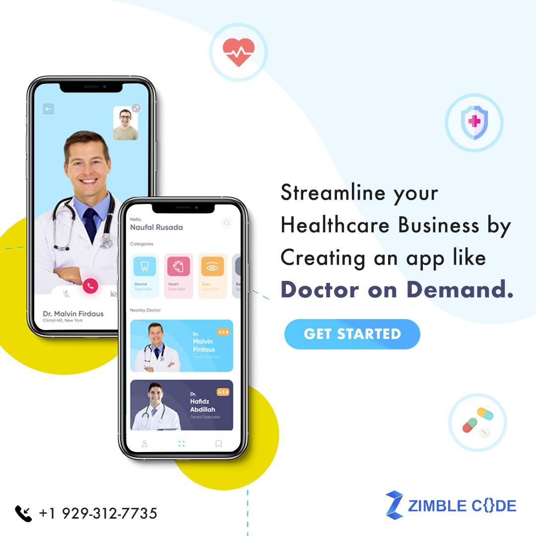 Doctor On Demand App Development in New York USA
