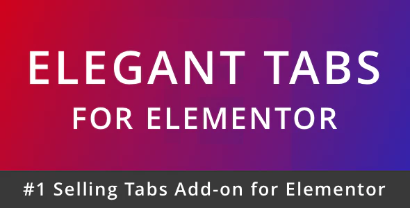 CodeCanyon - Elegant Tabs for Elementor v1.1 - 21669071