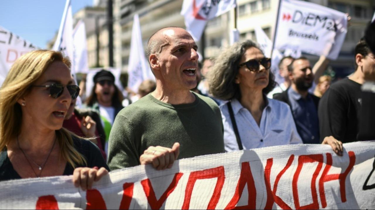 Huelga de personal de navegación en Grecia por el 1 de Mayo