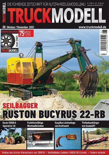 Cover: Truckmodell Modellbaumagazin  Oktober-November 2021